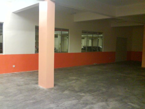 Gloss Paint at Multi Purpose Hall